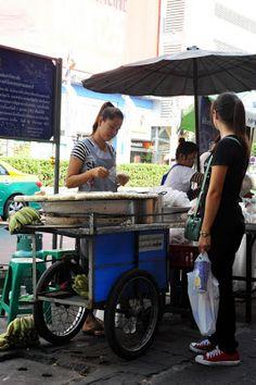 Thaï street food !