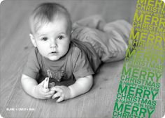 Newsflash Merry Christmas & Happy New Year Photo Cards - Shamrock. The words Merry Christmas & Happy New Year come together to form the impression of a stamp across your favorite photo on this holiday card. Try both looking at your photo in both color and black and white to see which one you like best. Printed on luxe, 100% post consumer recycled paper.. Price: $2.59