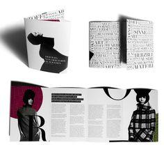 Clarissa Schwarz Brochure Design