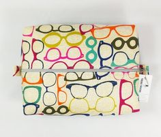 Back in Stock!  Glasses Toiletry Bag http://ift.tt/1LMhqo9  #cosmeticpouch #toiletrybag #doppbag #fabric #etsy #etsyshop #fireboltcreations #traveler #vacation #travel #etsyseller #sunglasses  #shoplocal #maker #glasses #nerdy #optometry #optometrist #gift #giftideas #gifts #handmade #colorful #zipperbag #zipperpouch #design #monday #shopping #handcrafted
