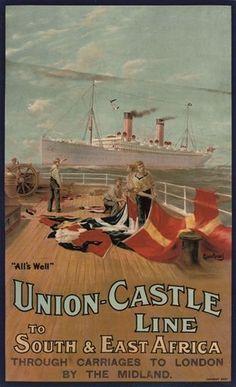 Union Castle Line ~ Maurice Randall