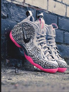 Nike Foamposite 'Elephantprint'