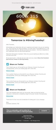 A Nonprofit's Guide to #GivingTuesday & End-of-Year Fundraising