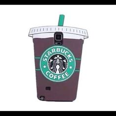 NIB! Starbucks -Galaxy Note 4- phone case Brand new phone case - Silicone. Starbucks Other