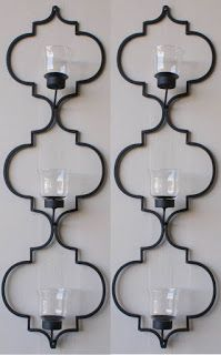 Wrought Iron Wall Candle Holders - Foter | Southwestern / Spanish ...