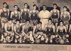 1960- Santa Fe se consagra Campeón Argentino de Básquebol al vencer en la final Santiago del Estero por 64 a 56