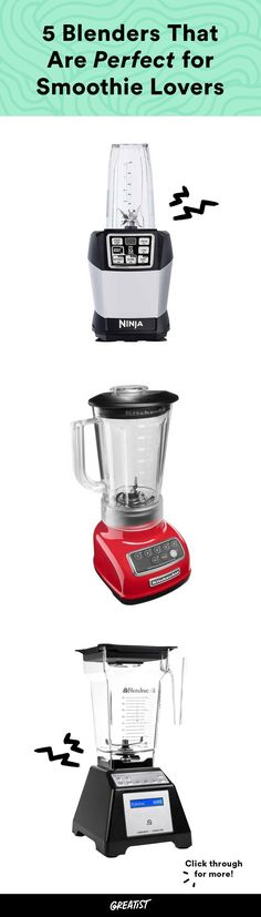 Don't let anyone tell you all blenders are created equal. #greatist http://greatist.com/live/best-blenders-for-smoothies-and-more