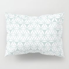 Blue_Flower_Life Pillow Sham
