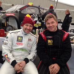 The Brothers are stil friends and ready for FIA European Rallycross Championship's first start in Lydden Hill, UK. X Games, The Brethren, Rally, Ice, Friends, Jackets, Fashion, Amigos, Down Jackets