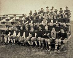 1910 Texas A & M Football team under Dana X. Bible