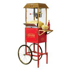 Nostalgia CCP1000RED Popcorn Cart - 082677752000