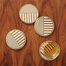 Decorative Mirror Coasters and Stone Coasters | west elm