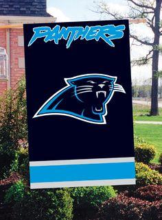 Carolina Panthers Garden Flag