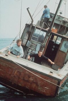 Going to need a bigger boat... /  Oh yes, stopped a generation from going into the ocean. Best movie ever!