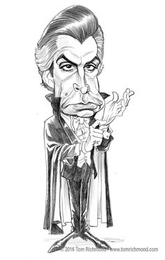 George Hamilton by Tom Richmond Animated Cartoon Characters, Cartoon Faces, Cartoon Art, Caricature From Photo, Caricature Drawing, Funny Caricatures, Celebrity Caricatures, Fun Illustration, Character Illustration