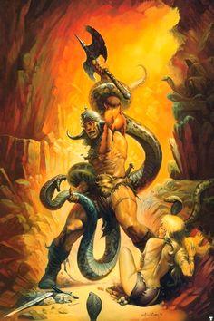 Conan the Barbarian ~ Ken Kelly