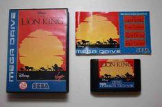 Sega Mega Drive Lion King Game