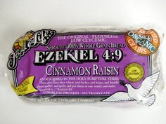 Food For Life's Ezekiel Bread is the highest selling sprouted grain bread on the market. Learn all about our sprouted bread and its nourishing ingredients. Ezekiel Bread Benefits, Baby Food Recipes, Gourmet Recipes, Diabetic Recipes, Free Recipes, Ezekial Bread, Healthy Food Options, Healthy Meals, Healthy Eating