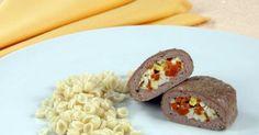 Рецепт Зразы мясные паровые Печеный Картофель, Тако, Картошка, Мясо, Выпечка, Еда