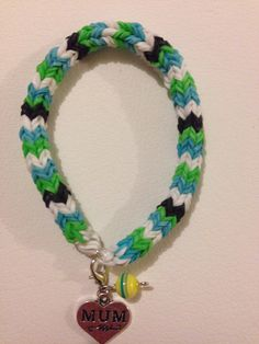 Mum charms bracelets