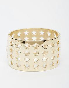 Nali Cuff With Cut Out Stars