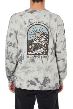 Men's Organic Cotton Graphic Tees - Katin USA Organic Cotton, Sweatshirts, Graphic Tees, Sweaters, Usa, Grey, Long Sleeve, Mens Tops, T Shirt