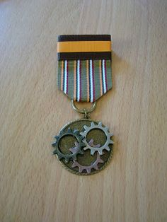 So one accessory that can really add to any steampunk outfit is a medal.  Or tons of medals.  I have been  collecting photos of different st...