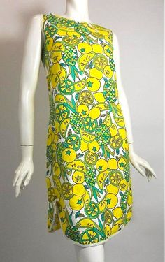 60s dress pop art dress vintage clothing