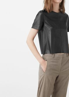 Zipped back top -  Women | MANGO USA