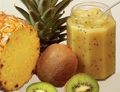 Ananas-Kiwi-Marmelade - Rezept - ichkoche.at