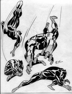 Bruce Timm // Black Panther