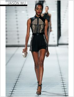 Jason Wu S/S 2013 -  from WhoWhatWear. This one is great too. girly and not at the same time.