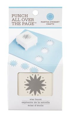 Martha Stewart Crafts - Punch All Over the Page - Craft Punch - Star Burst at Scrapbook.com $17.99