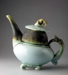 Porcelain Teapot | Fleur Schell