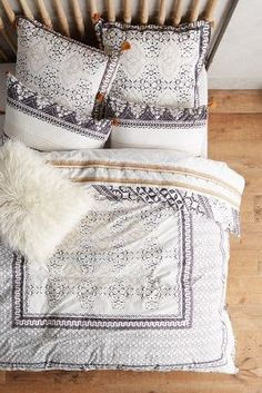 New Bedding, Pillows, Blankets #anthrofave