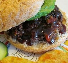 "Barbecued Burgers: ""We liked the taste of these burgers — great flavor!"" -Nif"