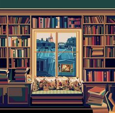 Paris | illustration by Pier Paolo Rovero Paris Illustration, Illustrations, Location History, Instagram, Frame, Painting, Home Decor, Twitter, Videos
