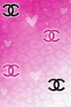 Chanel Hearts Wallpaper.