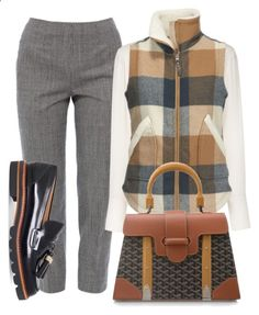 Invested by fashionforwarded ❤ liked on Polyvore featuring Piazza Sempione, Chloé, Woolrich, Stuart Weitzman and Goyard