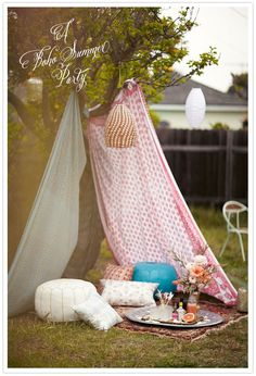 pretty #tent for a party...