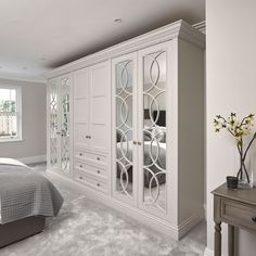 Design & Create Beautiful Bespoke Luxury Wardrobes & Dressing Rooms - Trend Home Dressing Room Decor, Dressing Room Design, Dressing Rooms, Built In Wardrobe Designs, Closet Designs, Wardrobe Ideas, Wardrobe Room, Wardrobe Design Bedroom, Bedroom Cupboard Designs