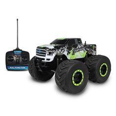 Nkok Mean Machines 1:8 Extreme Terrain RTR RC: 2015 Ford F-150 Vehicle