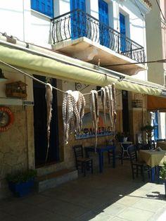 Aegina Tavern Octopus