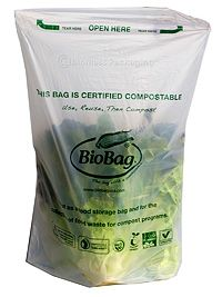 BioBags are a biobased, chemical-free alternative to conventional, polyethylene plastic produce bags