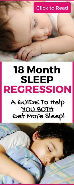 Experiencing the 18 month sleep regression? Read this guide for an 18 month sleep schedule, 18 month sleep training info and 18 month sleep tips! Don't be caught off guard by toddler sleep regression! This guide has what you need!
