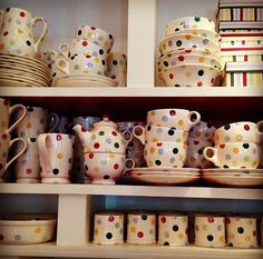 Emma Bridgewater Polka Dot...love this range.Got some for an engagement present and would love more.