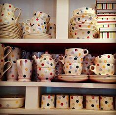 polka dots~Emma Bridgewater Dishes