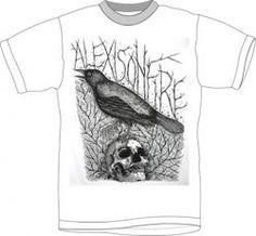 Alexisonfire T-Shirt - Skull & Crow