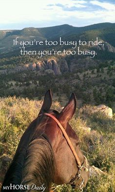 never too busy