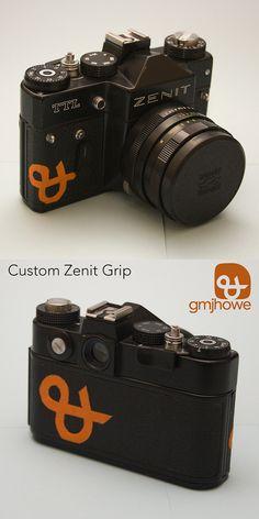 Sugru Inlay a vintage camera - http://www.instructables.com/id/Sugru-Inlay-Your-Vintage-Cameras/ by @Jake Howe
